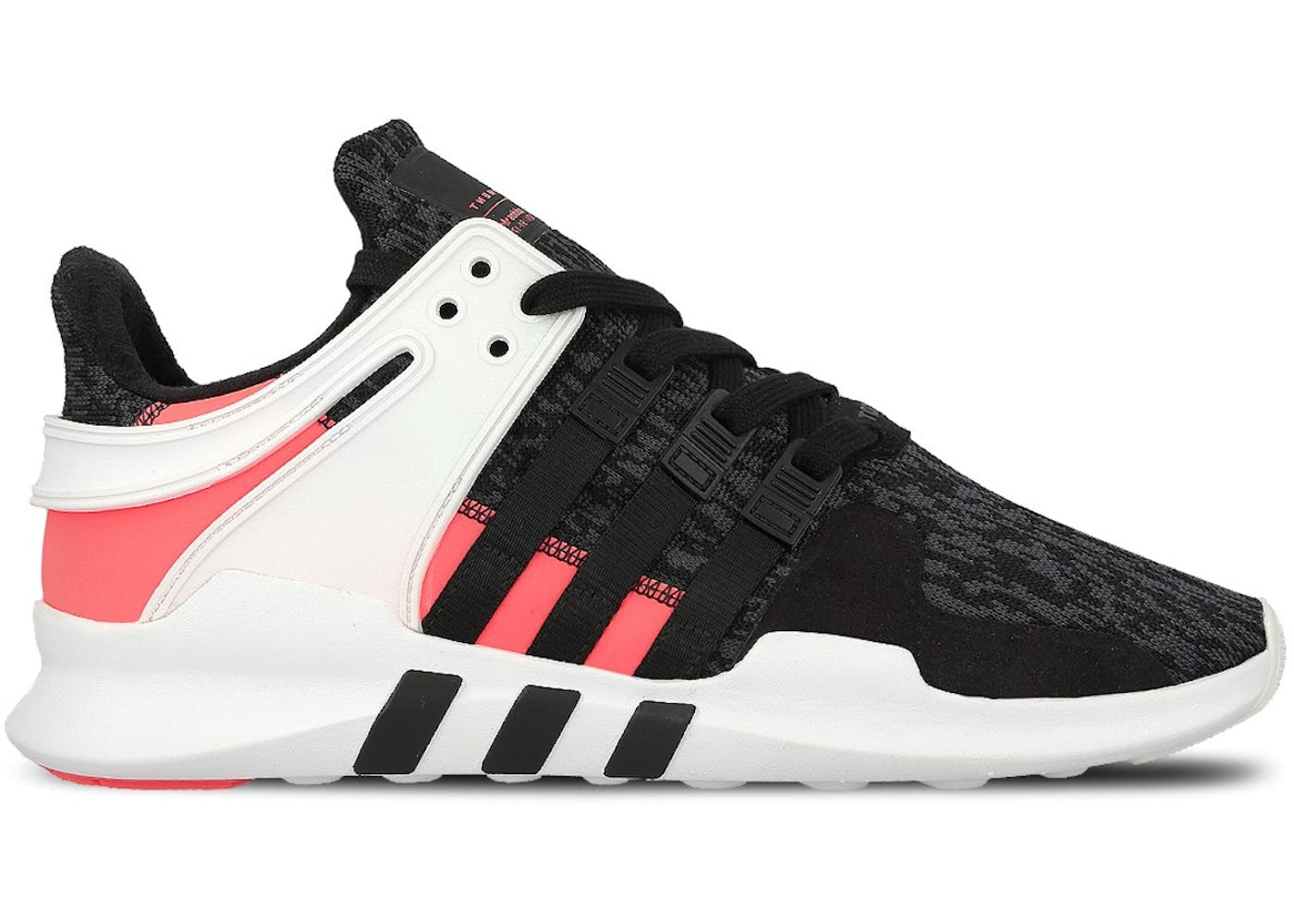 Adidas Eqt Support Adv (Black / White / Turbo Red) Comvos Express