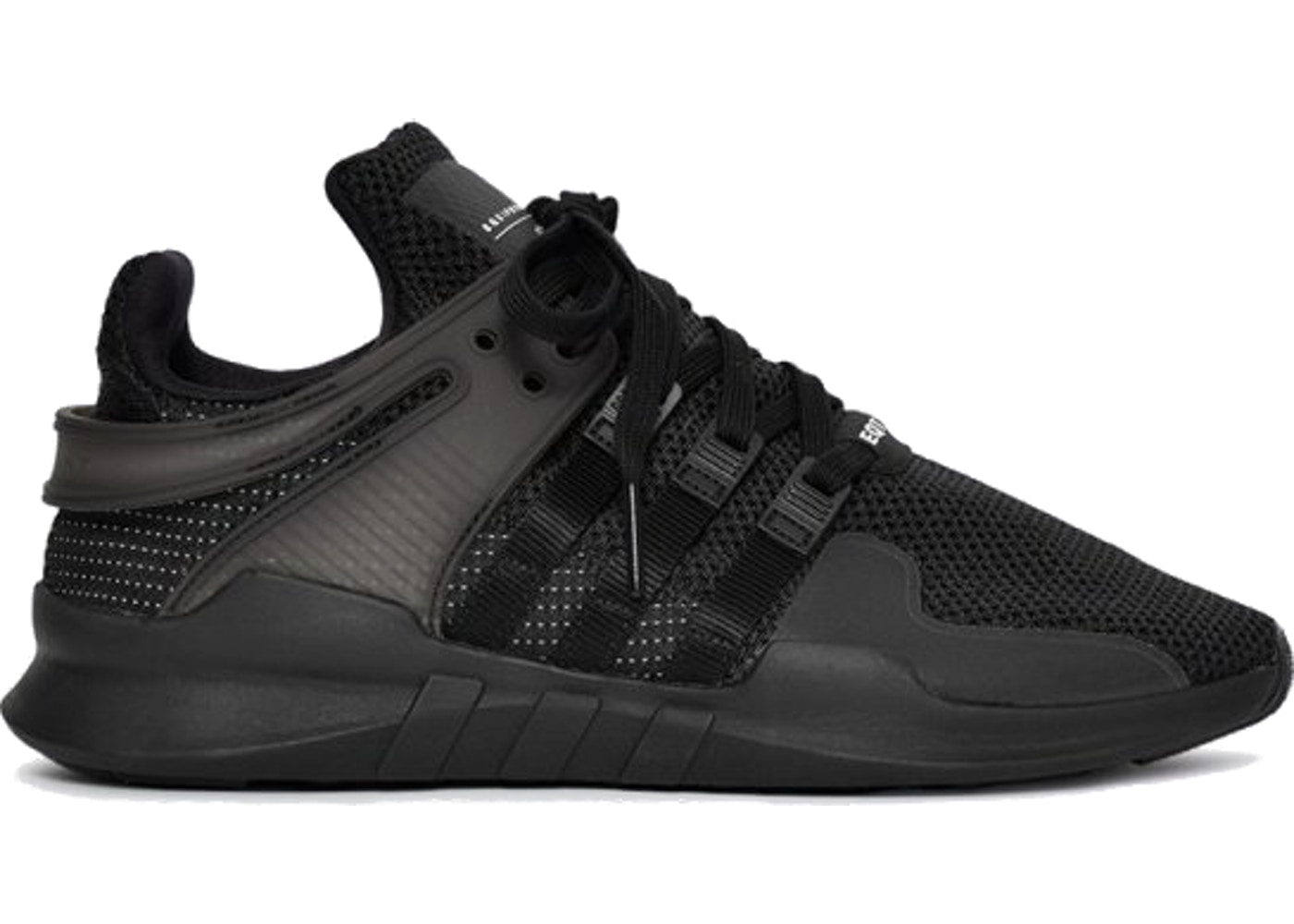hot sale online dad5b d7954 ... adidas EQT Support ADV Triple Black first rate 1ed4a a11b4 ...
