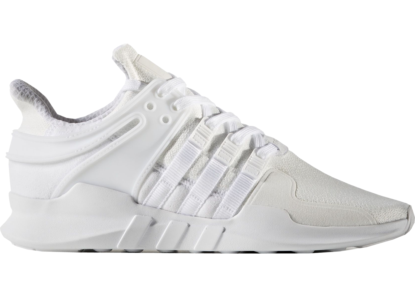 on sale b3eaa 93a20 adidas EQT Support ADV Primeknit White Black
