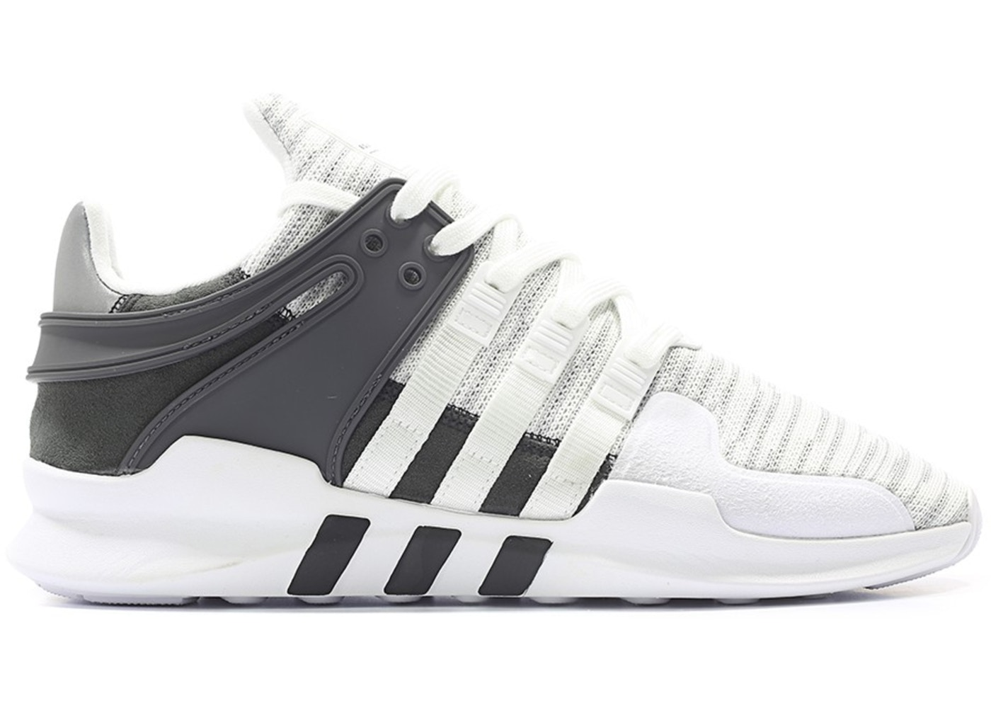 timeless design e2537 82f98 adidas EQT Support ADV White Black
