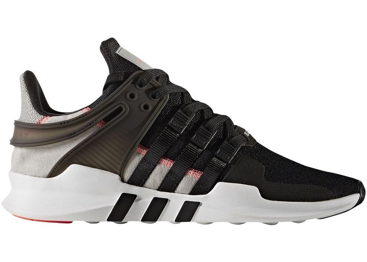adidas eqt support adv black and red