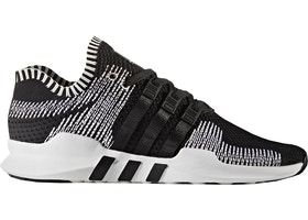official photos 9ab2e 9fcea adidas EQT Support Adv Primeknit Black White - BY9390