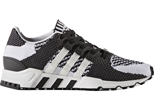 adidas eqt support 93/17 BOOST Glitch Zebra Black White Mens US