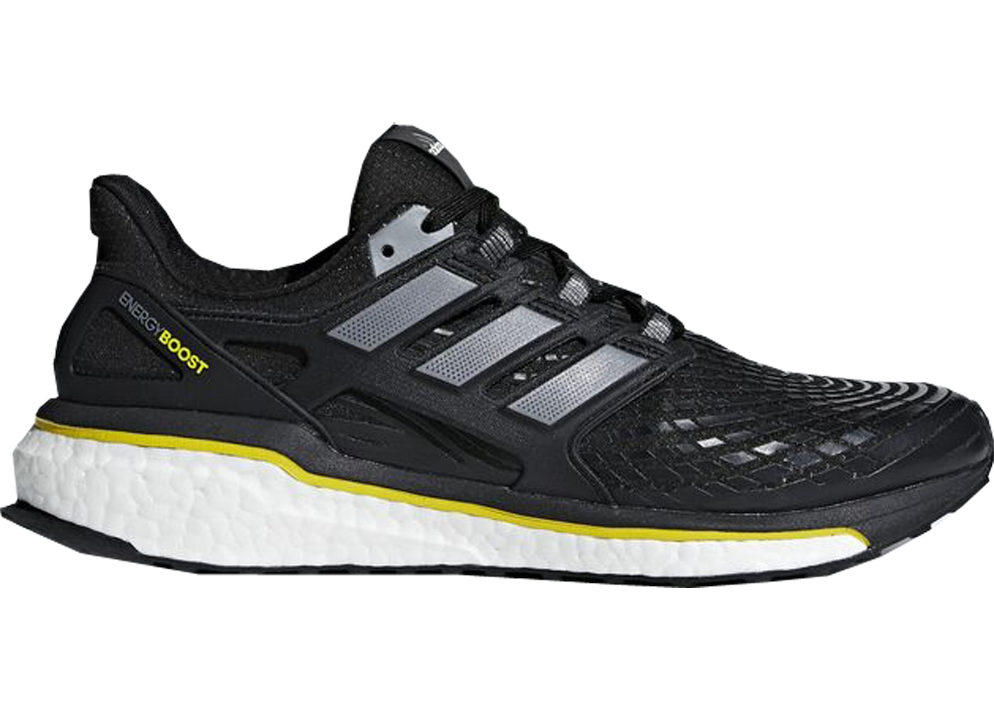419c290ea adidas Energy Boost 5th Anniversary Black Yellow - CQ1762