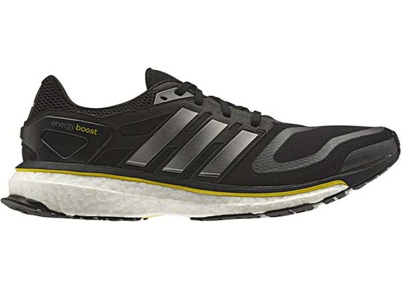 buy online 37331 ebf7f adidas Energy Boost OG 5th Anniversary Black Yellow