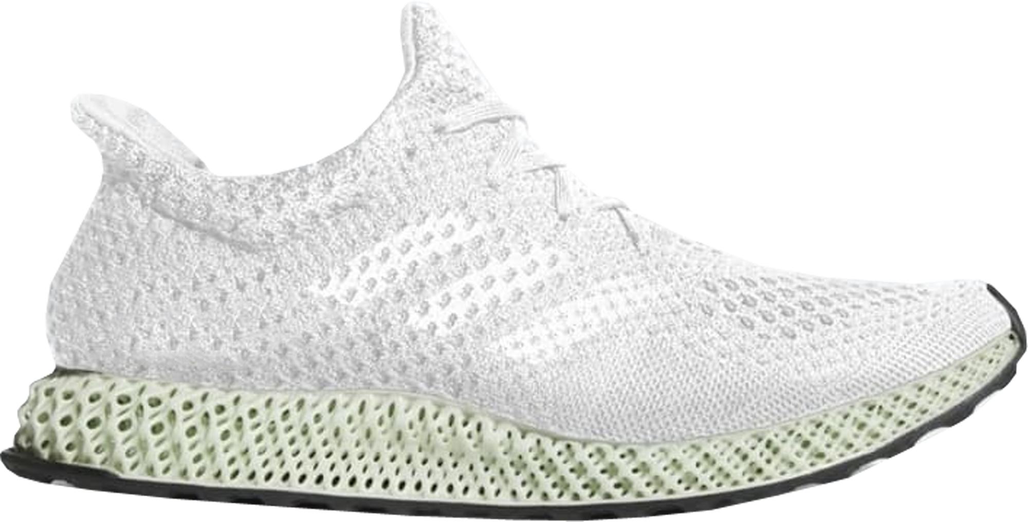 Adidas futurecraft 4D blanco Ash verde bd7701