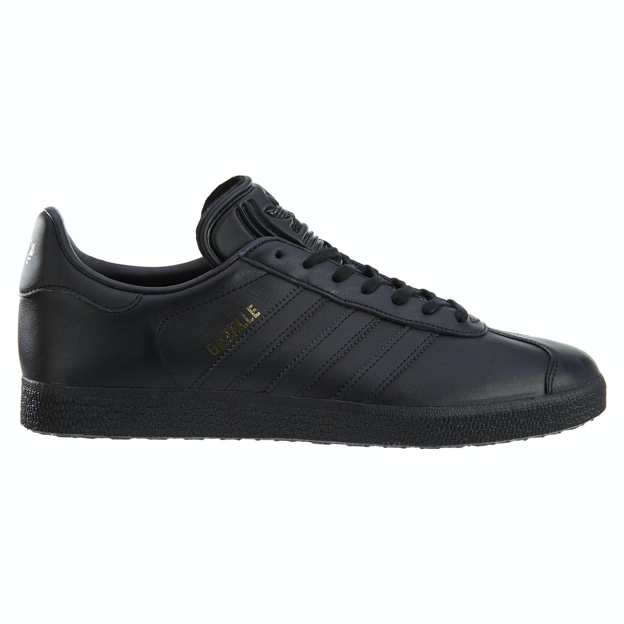 adidas Gazelle Black/Black-Gold Metallic