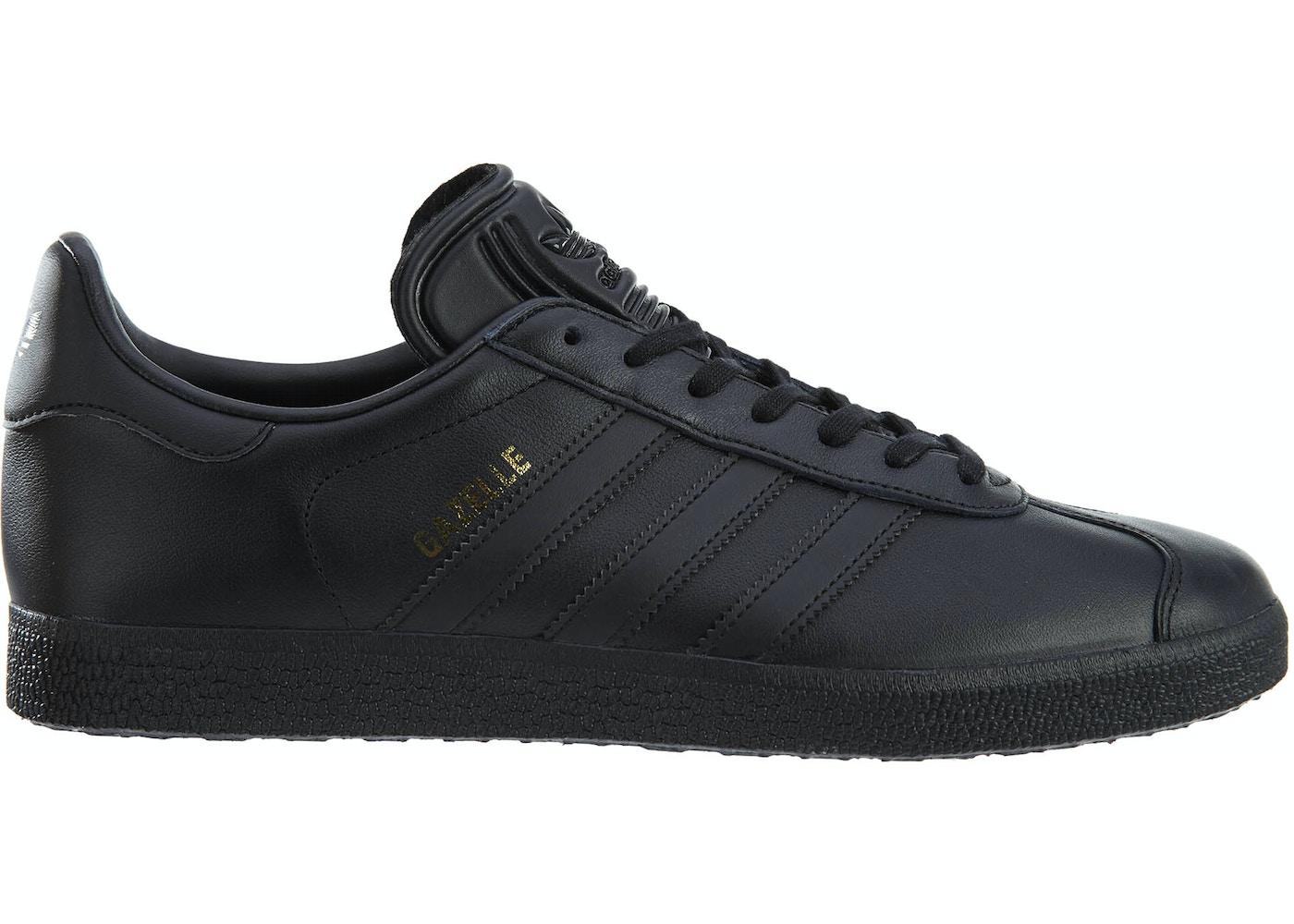 d21916d5014855 adidas Gazelle Black Black-Gold Metallic - BB5497