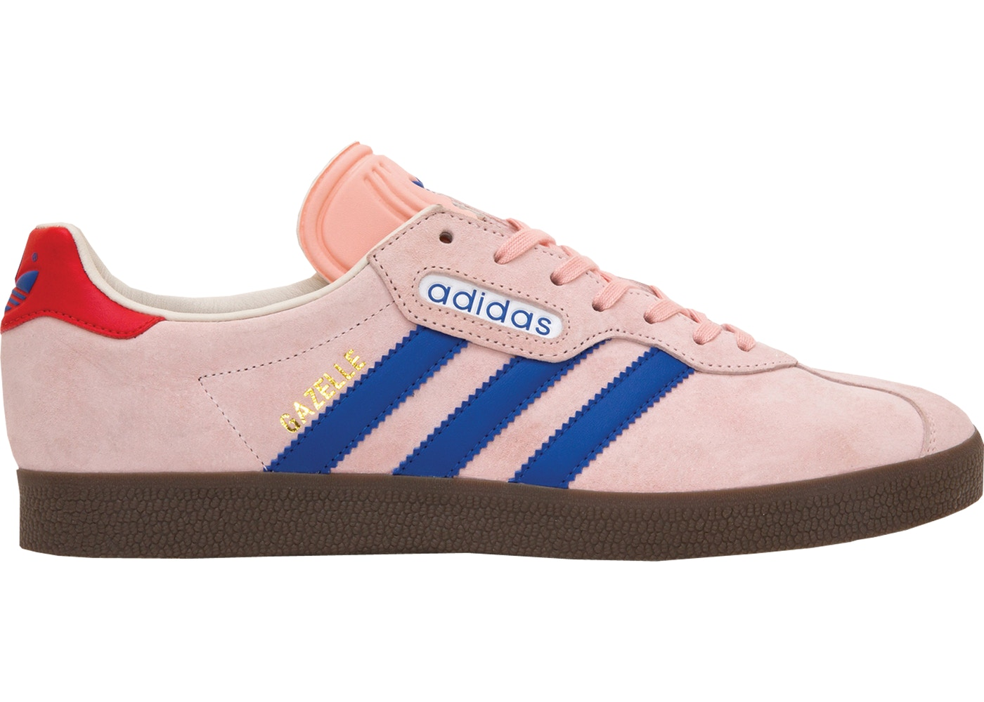 Sneakers – Mens Adidas London to Manchester Gazelle Super Pink