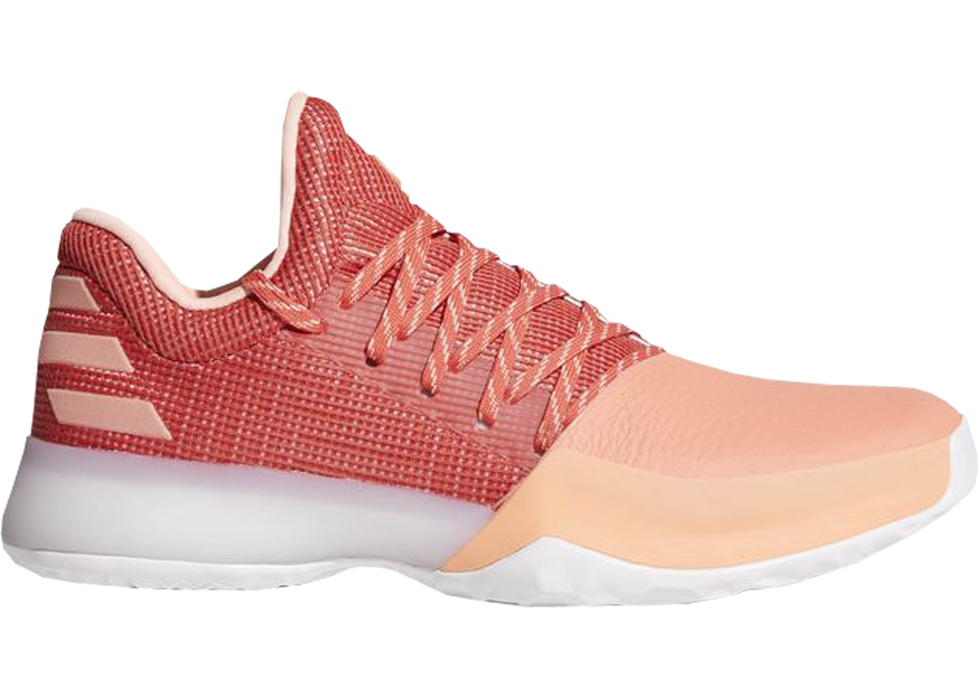 buy popular 32a00 97ac9 adidas Harden Vol. 1 Chalk Coral
