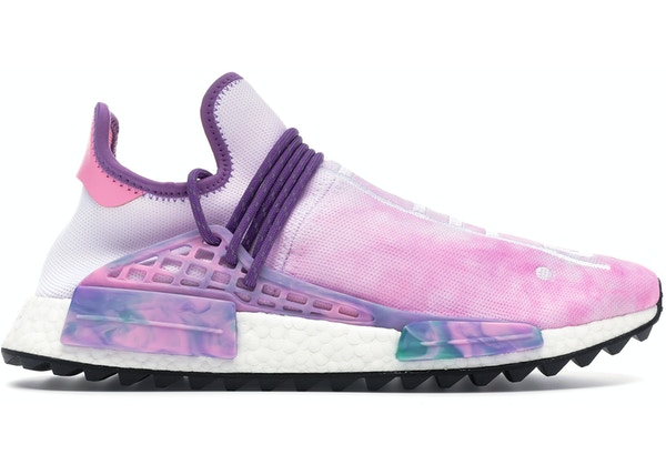 new concept f0233 fcdcf adidas Human Race NMD Pharrell Holi Festival (Pink Glow ...