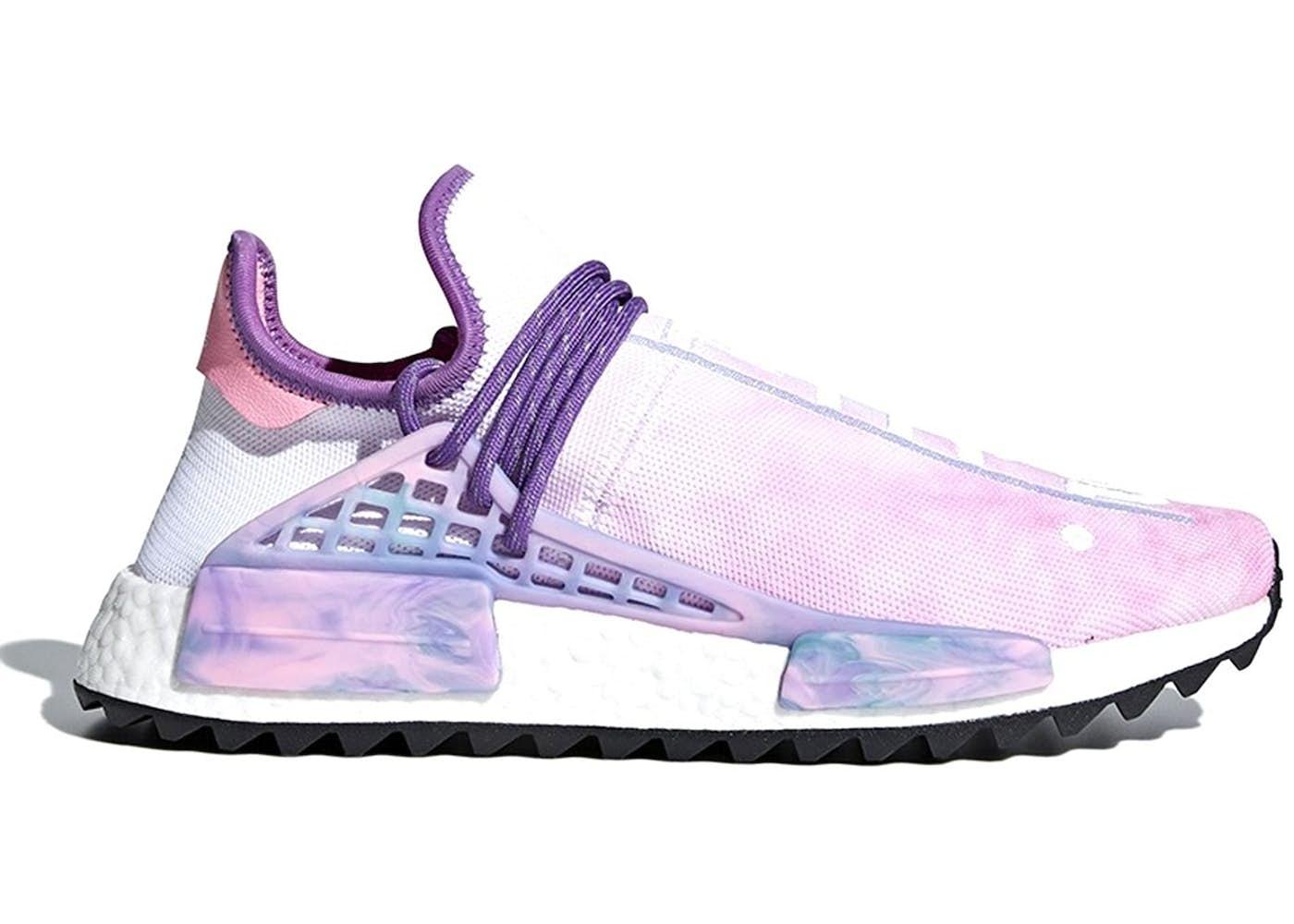 2240e9c1b8340 Adidas Human Race Nmd Pharrell Holi Festival (pink Glow
