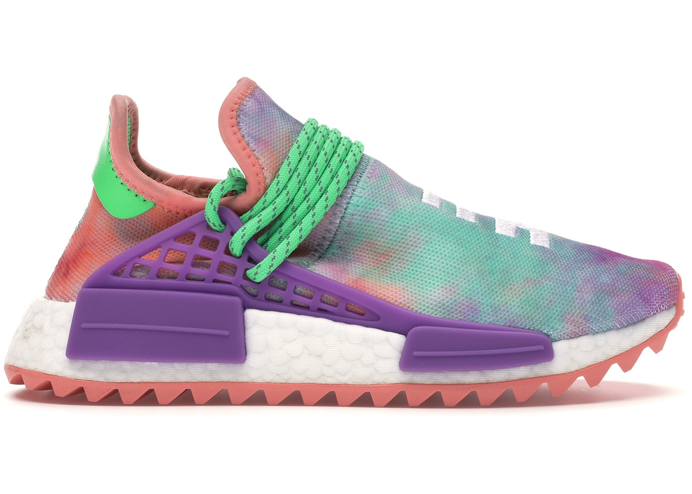 reputable site a74a2 41ce1 adidas Human Race NMD Pharrell Holi Festival (Chalk Coral)