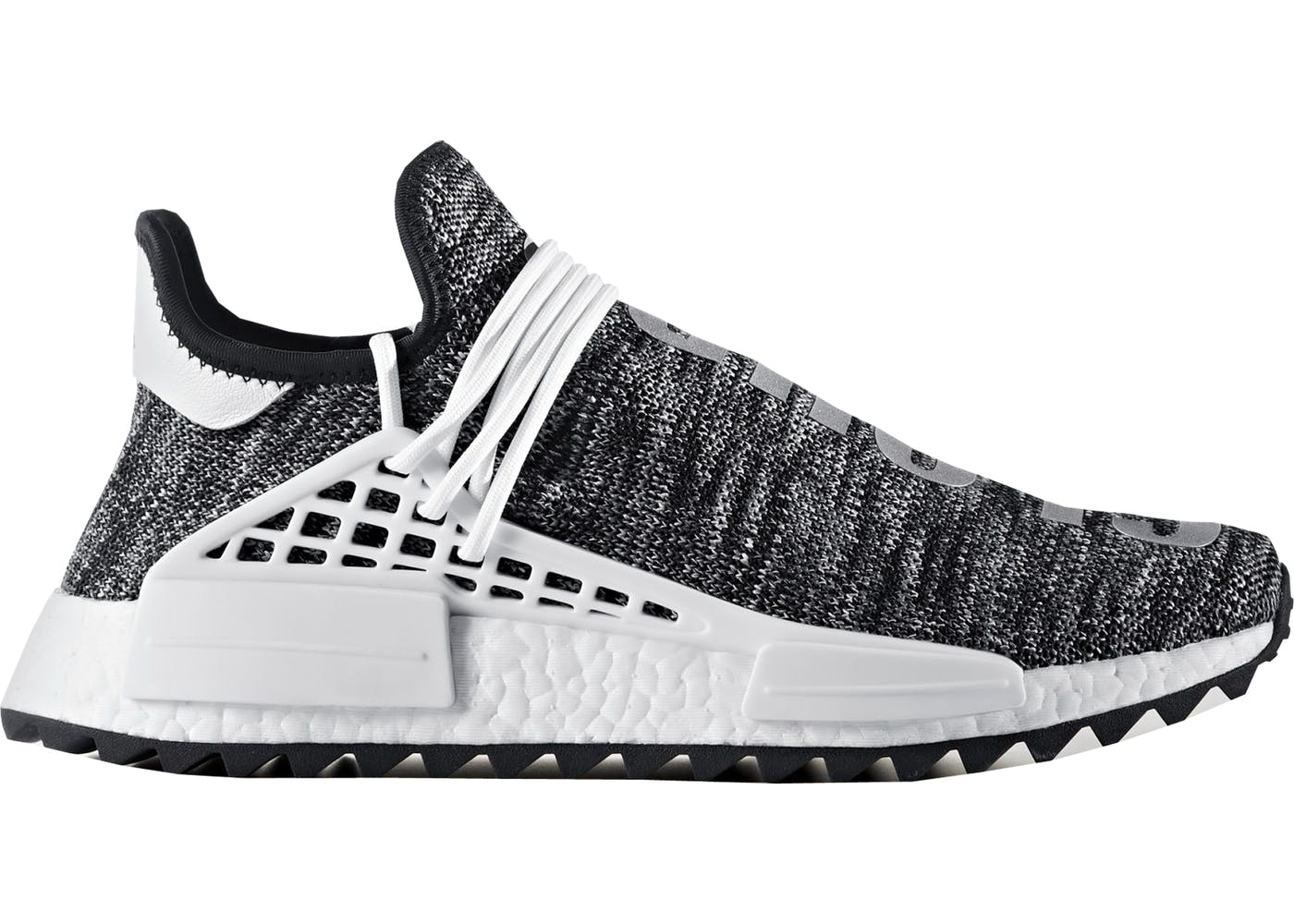 [$460] ADIDAS NMD HUMAN RACE PHARRELL BLACK HU BB3068