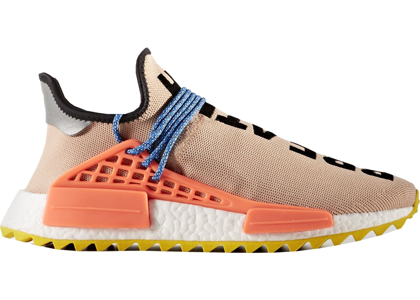 ADIDAS X PHARRELL NMD HUMAN RACE Blue brake clothing