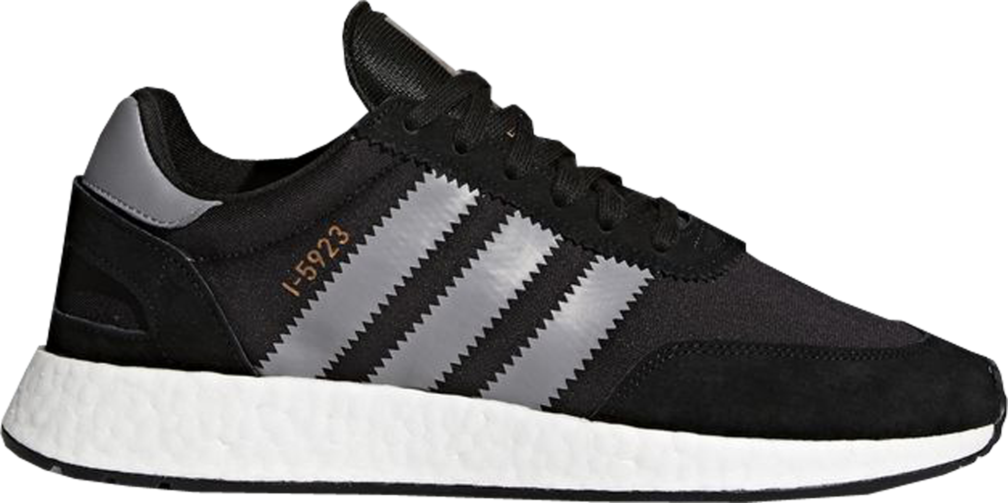 adidas I-5923 Core Black Grey Three