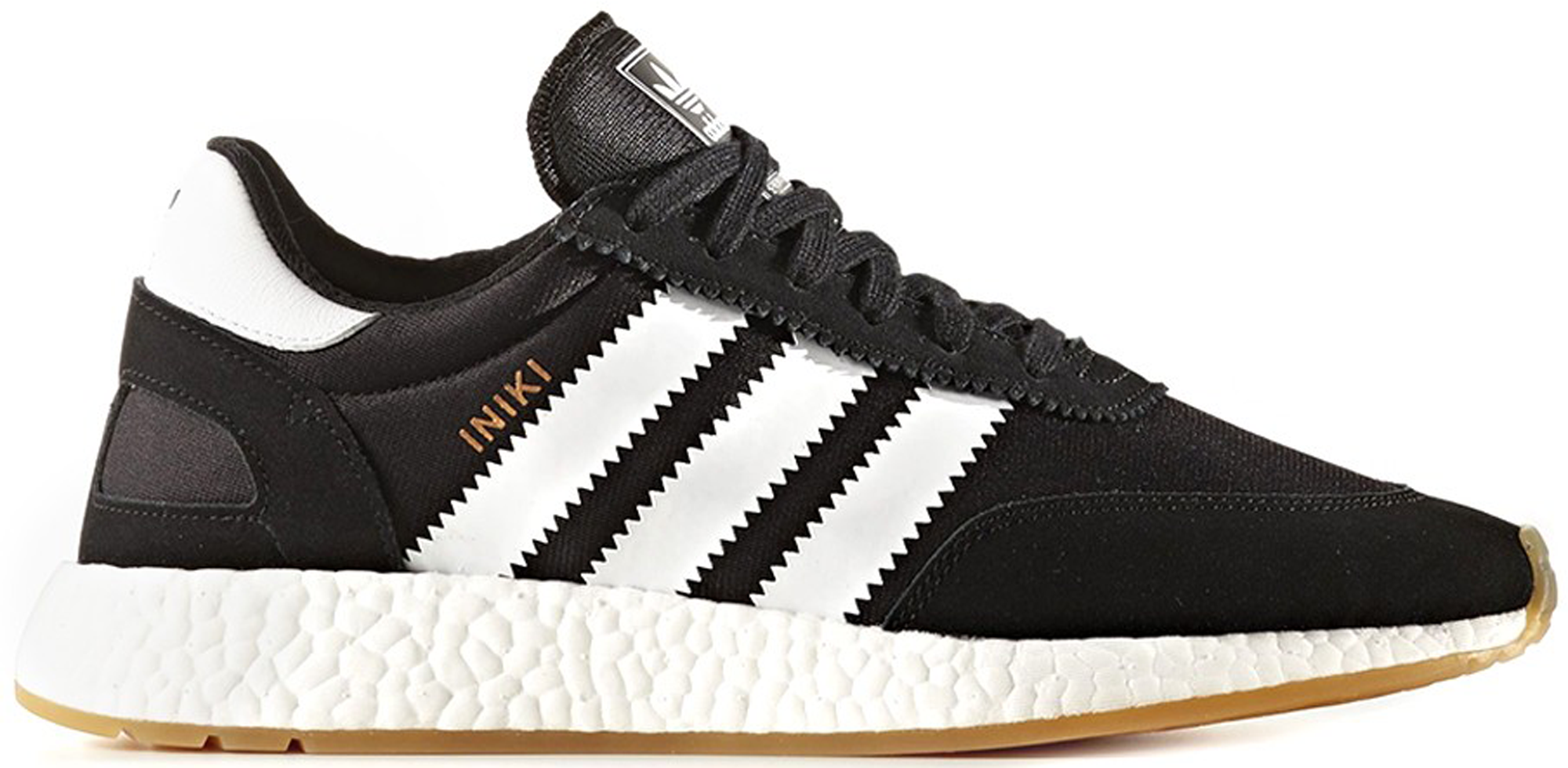 adidas Iniki Runner Black White Gum