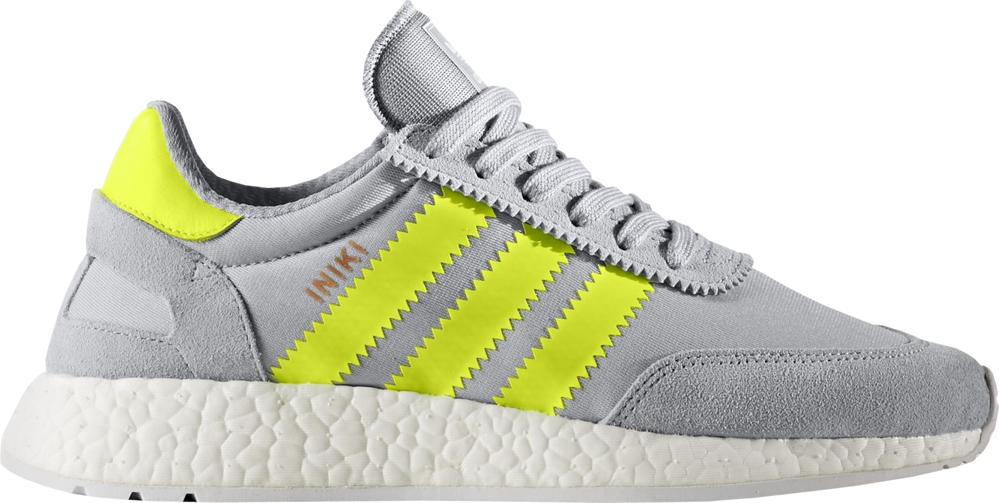 adidas Iniki Runner Clear Onix Solar Yellow (W)