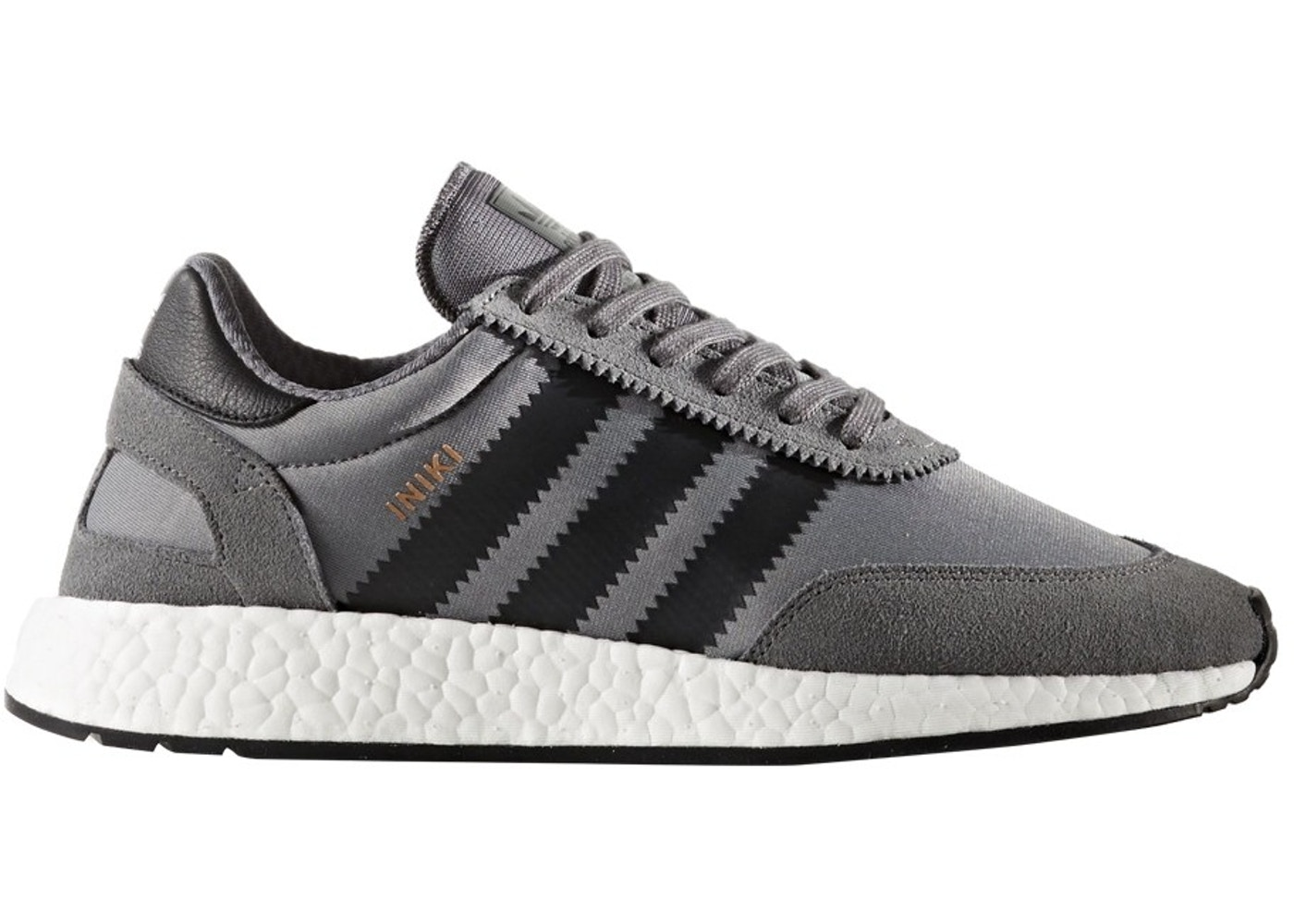 size 40 fefa7 4f62a adidas Iniki Runner Grey Four Core Black