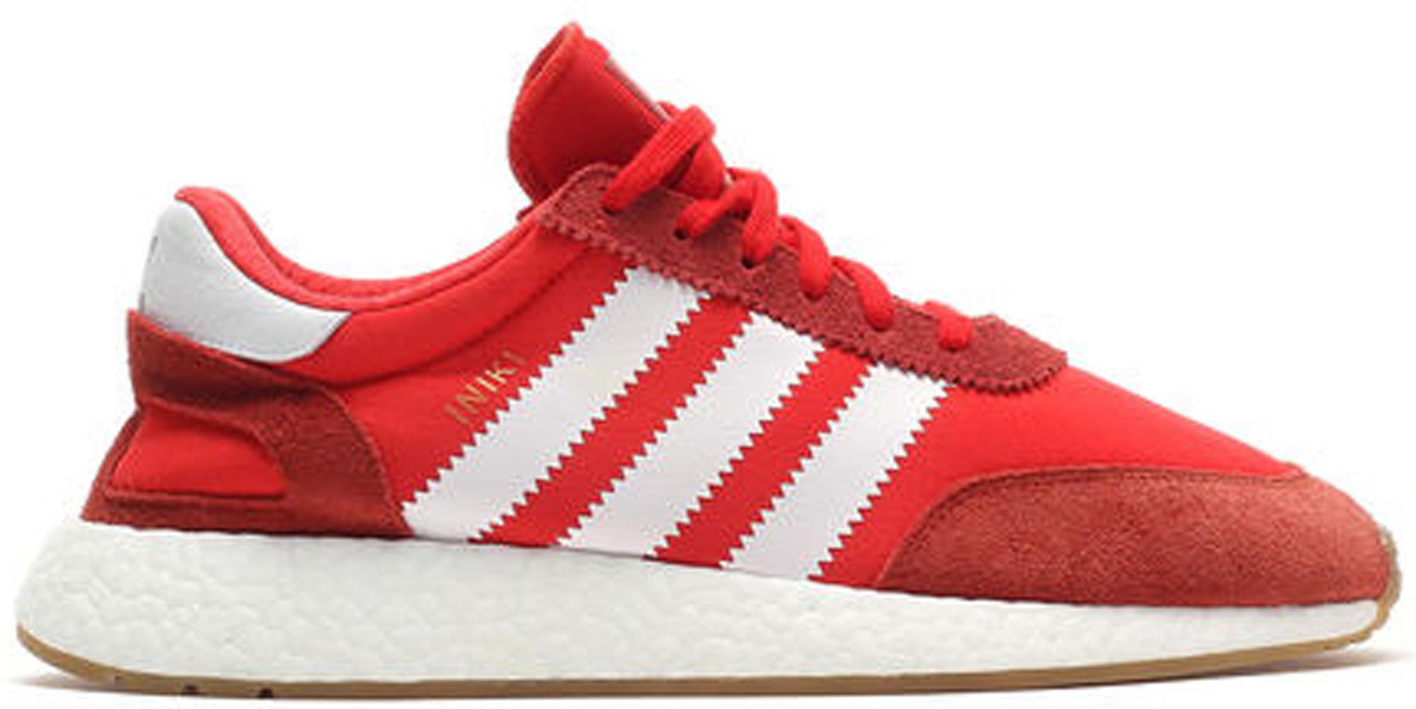 adidas Iniki Runner Red White