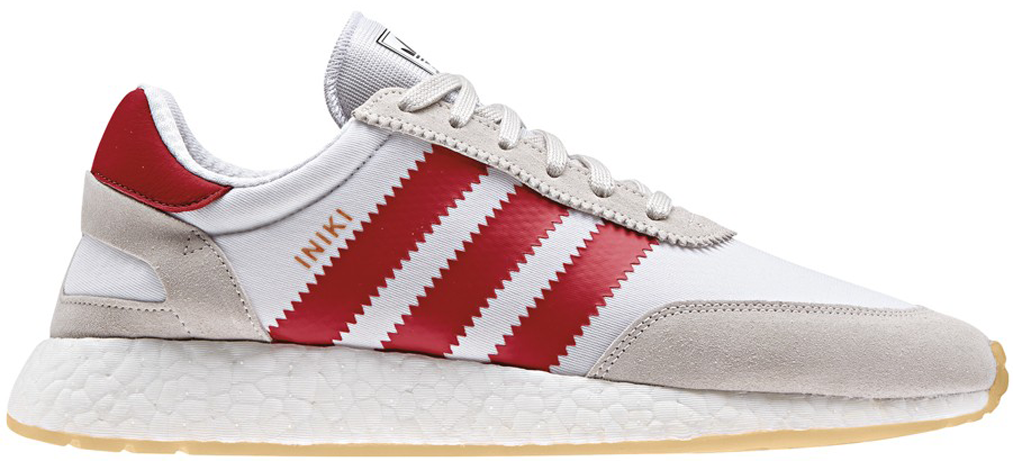 adidas Iniki Runner White Red Gum