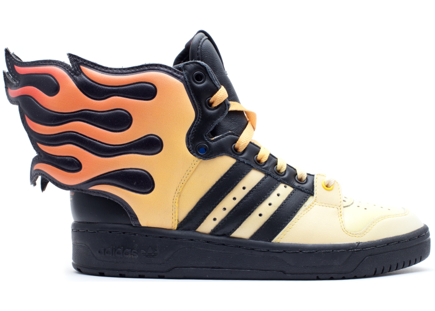 magasin en ligne fe60d 26c44 adidas JS Flames Jeremy Scott
