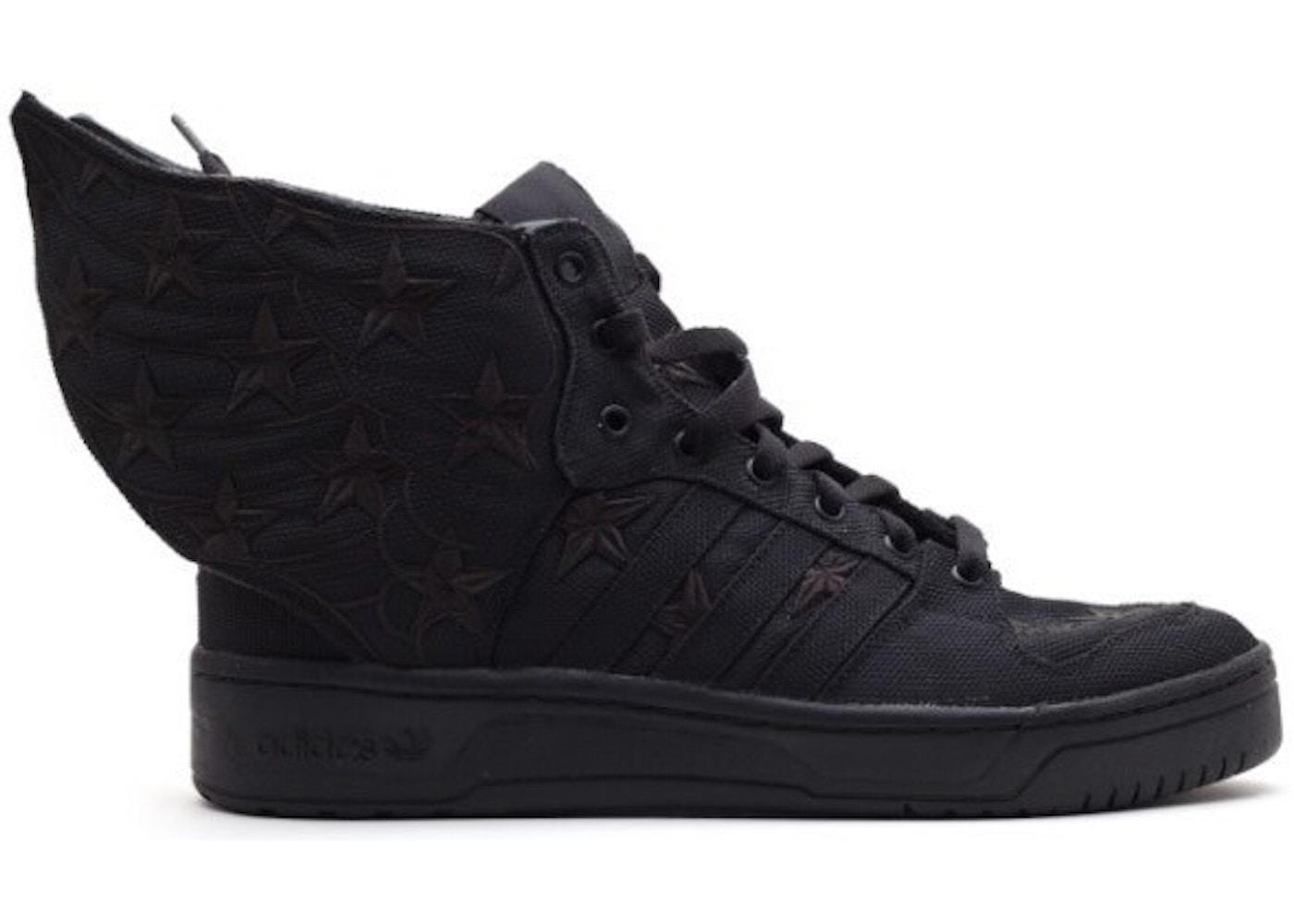 size 40 d7a77 9ce8f adidas JS Wings Asap Rocky Black Flag