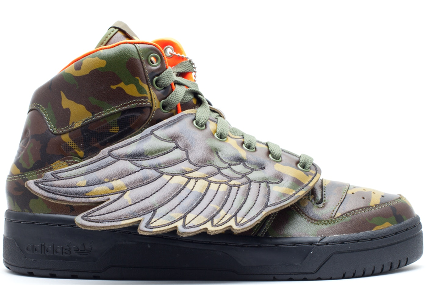 classic sports shoes outlet store adidas JS Wings Jeremy Scott Camo