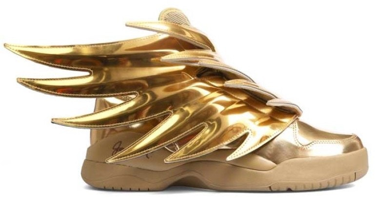 adidas JS Wings Solid Gold