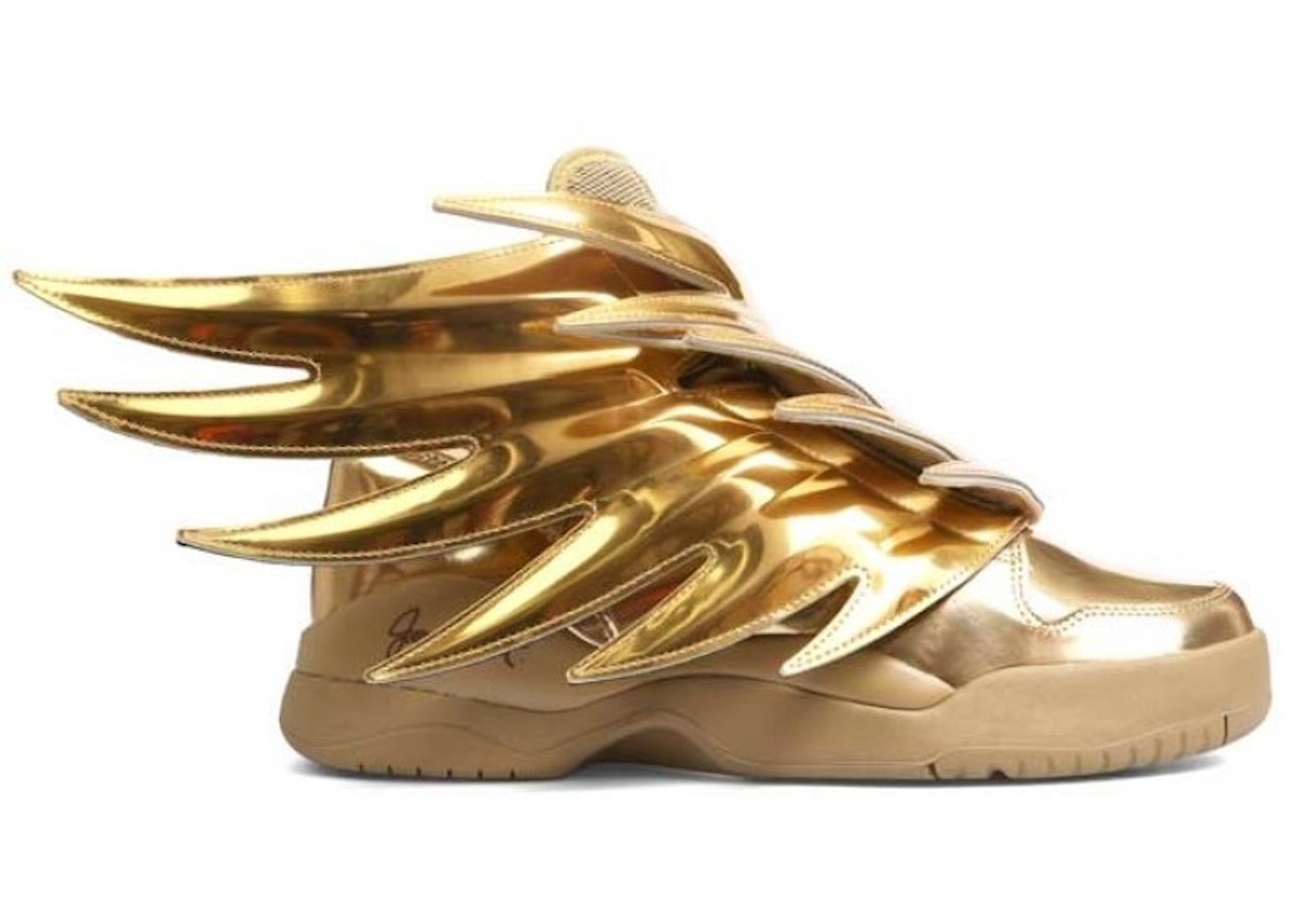 cute new cheap save up to 80% adidas JS Wings Solid Gold