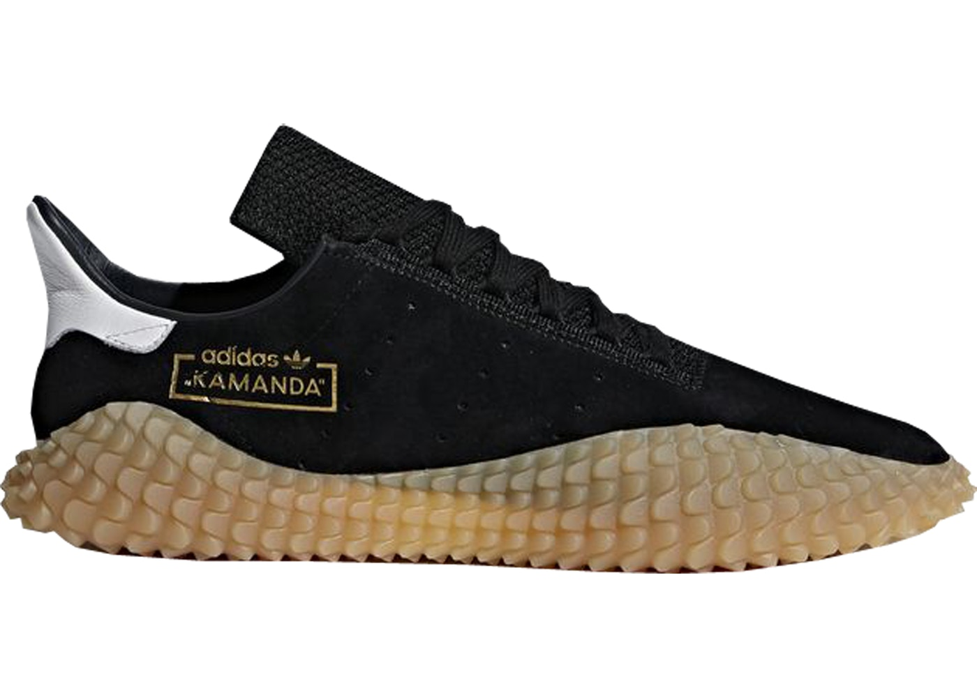 Adidas Kamanda Size US 9.5/UK 9 Black Gum *Brand New* Sold Out 100% Authentic