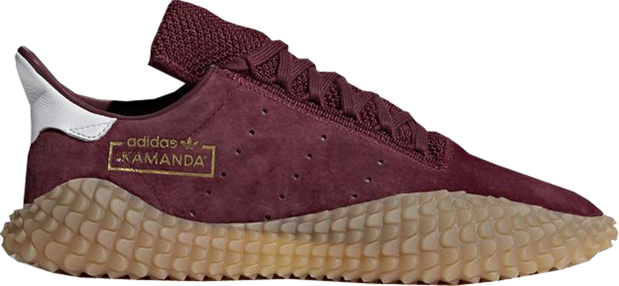 adidas Kamanda Burgundy Gum