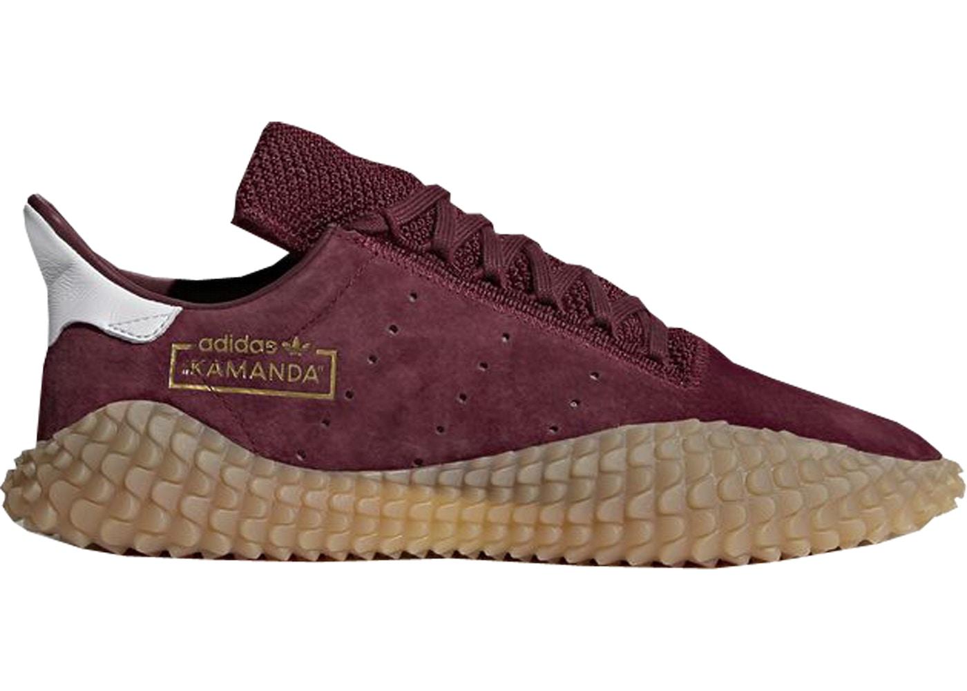 Adidas Kamanda Burgundy Gum Size 10.5