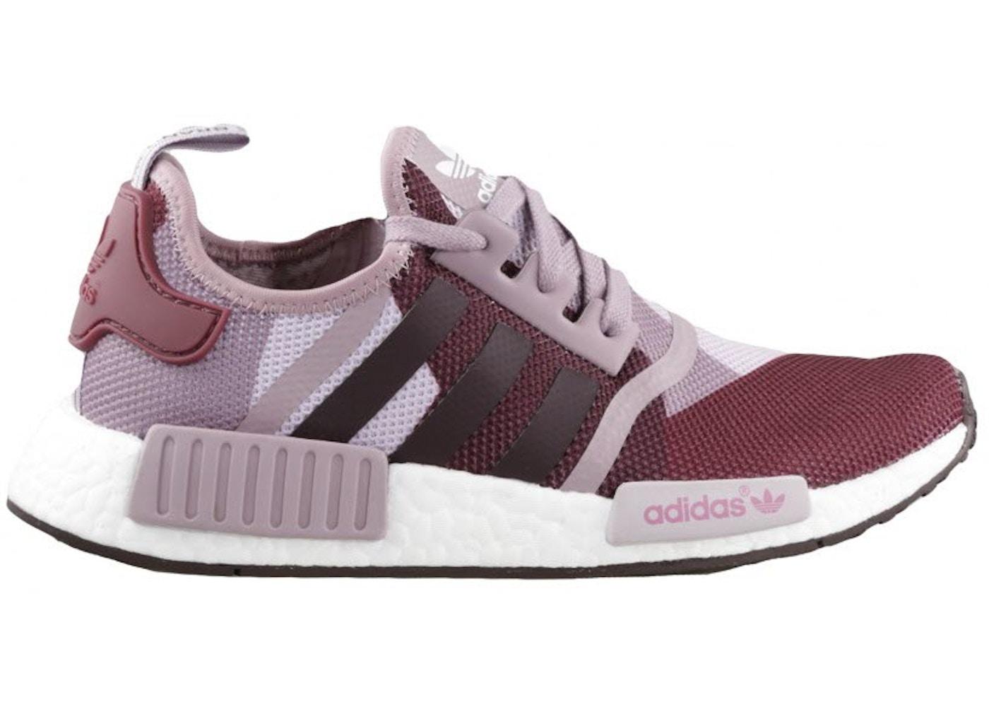 more photos 5b8f1 d599a adidas NMD R1 Blanch Purple (W)