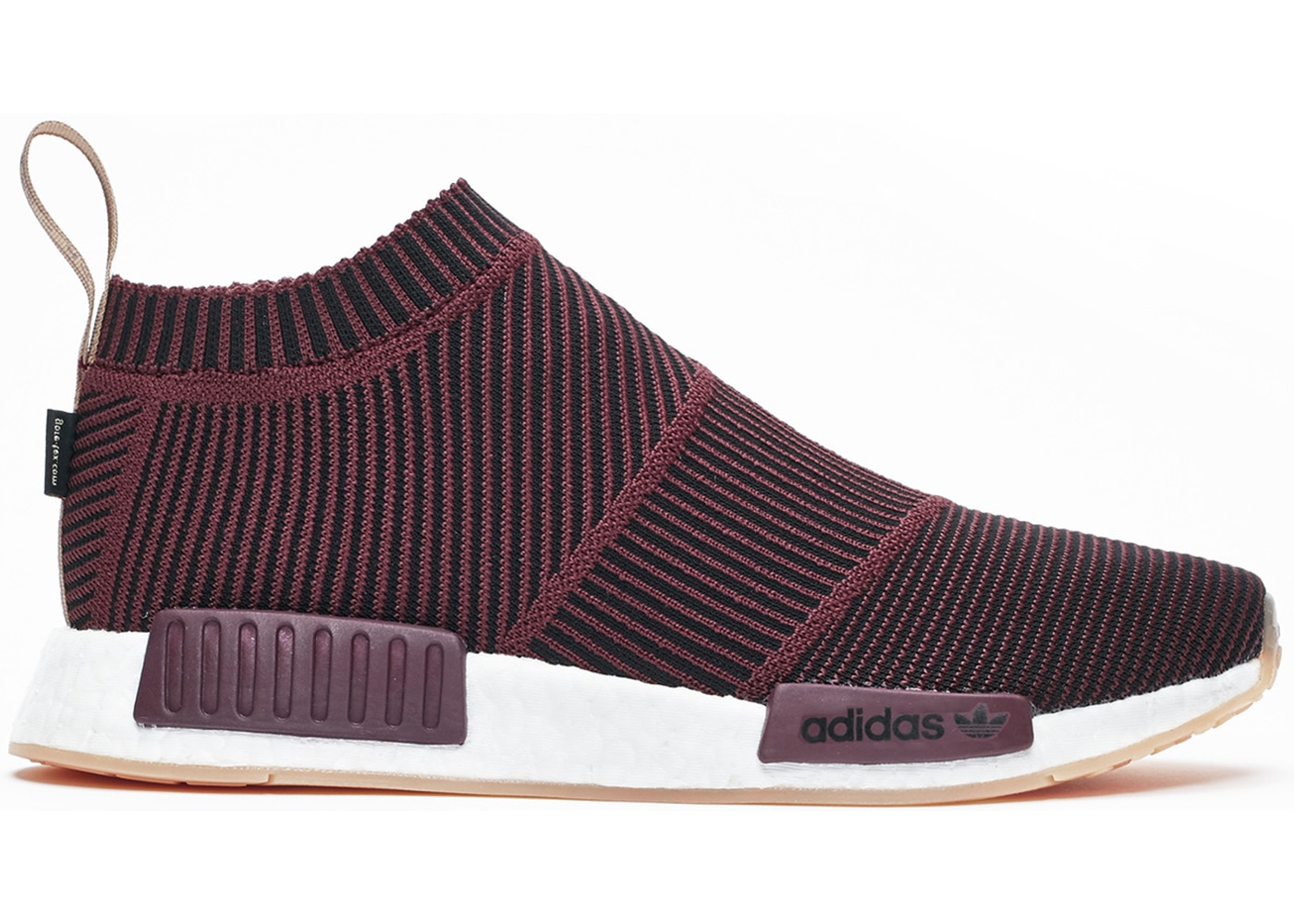 wholesale dealer ff6e0 6b6bb adidas NMD CS1 Gore-tex Dark Burgundy