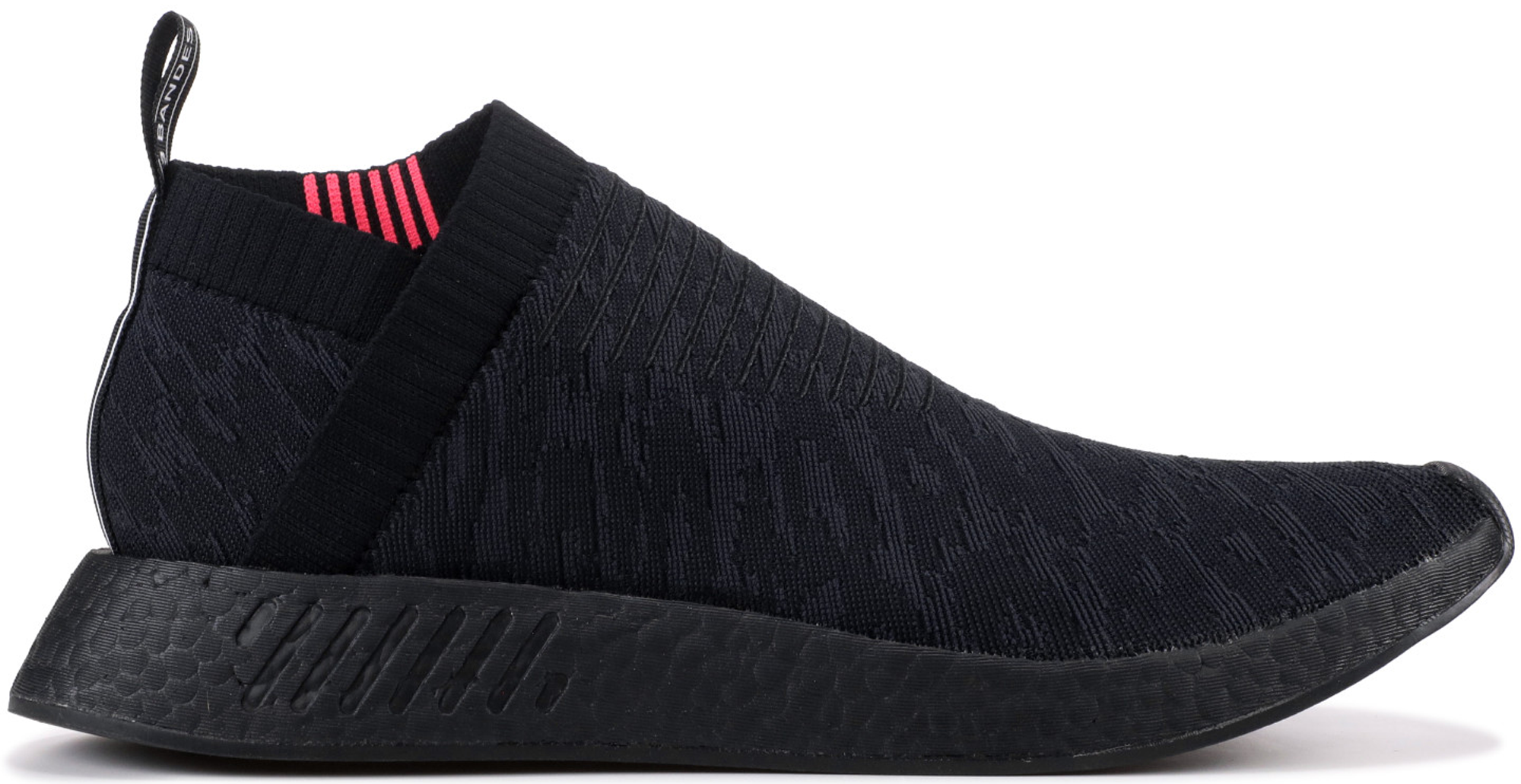adidas NMD CS2 Triple Black Shock Pink