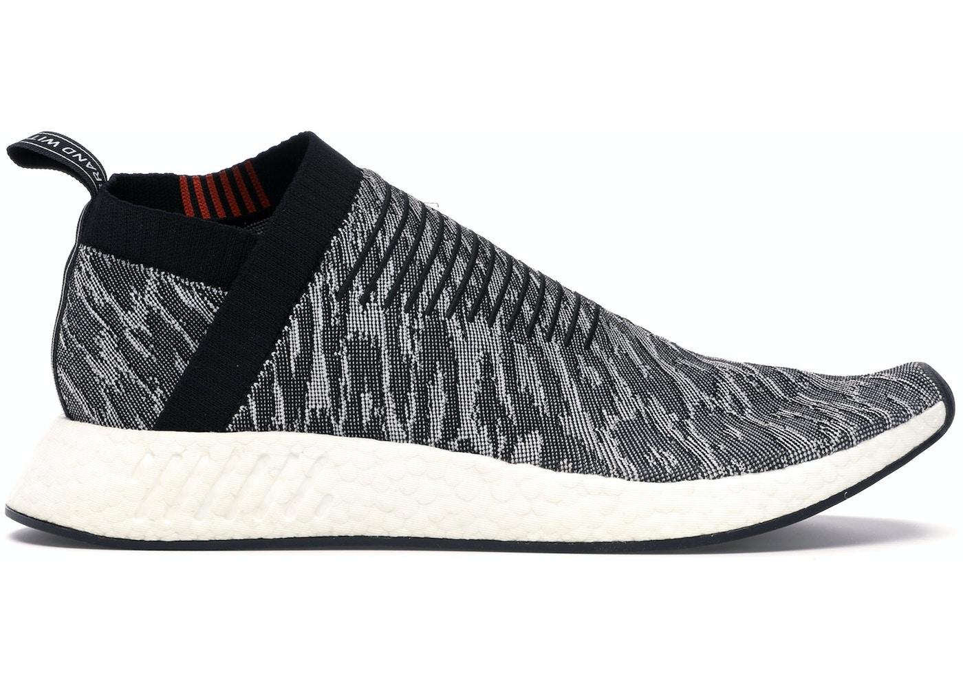 Adidas Nmd Cs2 Glitch Black Red White Bz0515