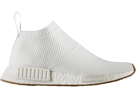 énorme réduction a1e4e 9081a adidas NMD City Sock Gum Pack White