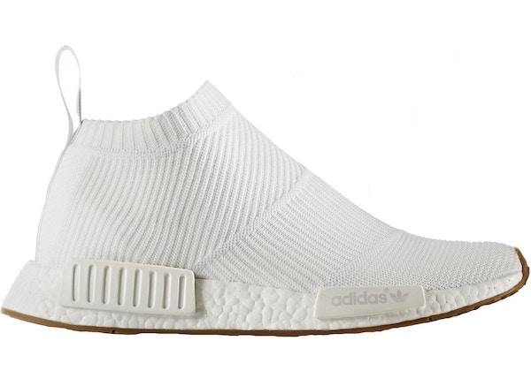 huge discount d2cf8 3c965 adidas NMD City Sock Gum Pack White