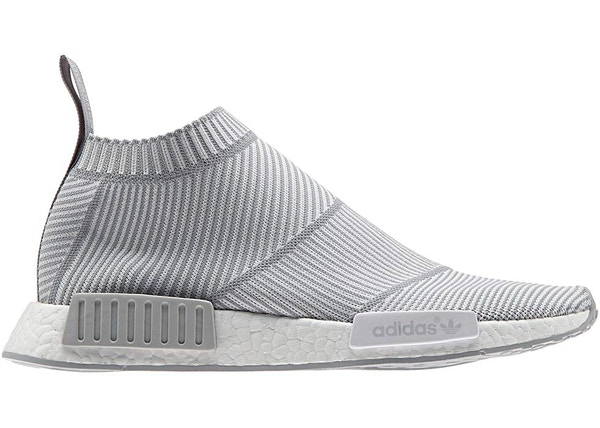 Los Angeles 56b8e a97bb adidas NMD City Sock White Grey