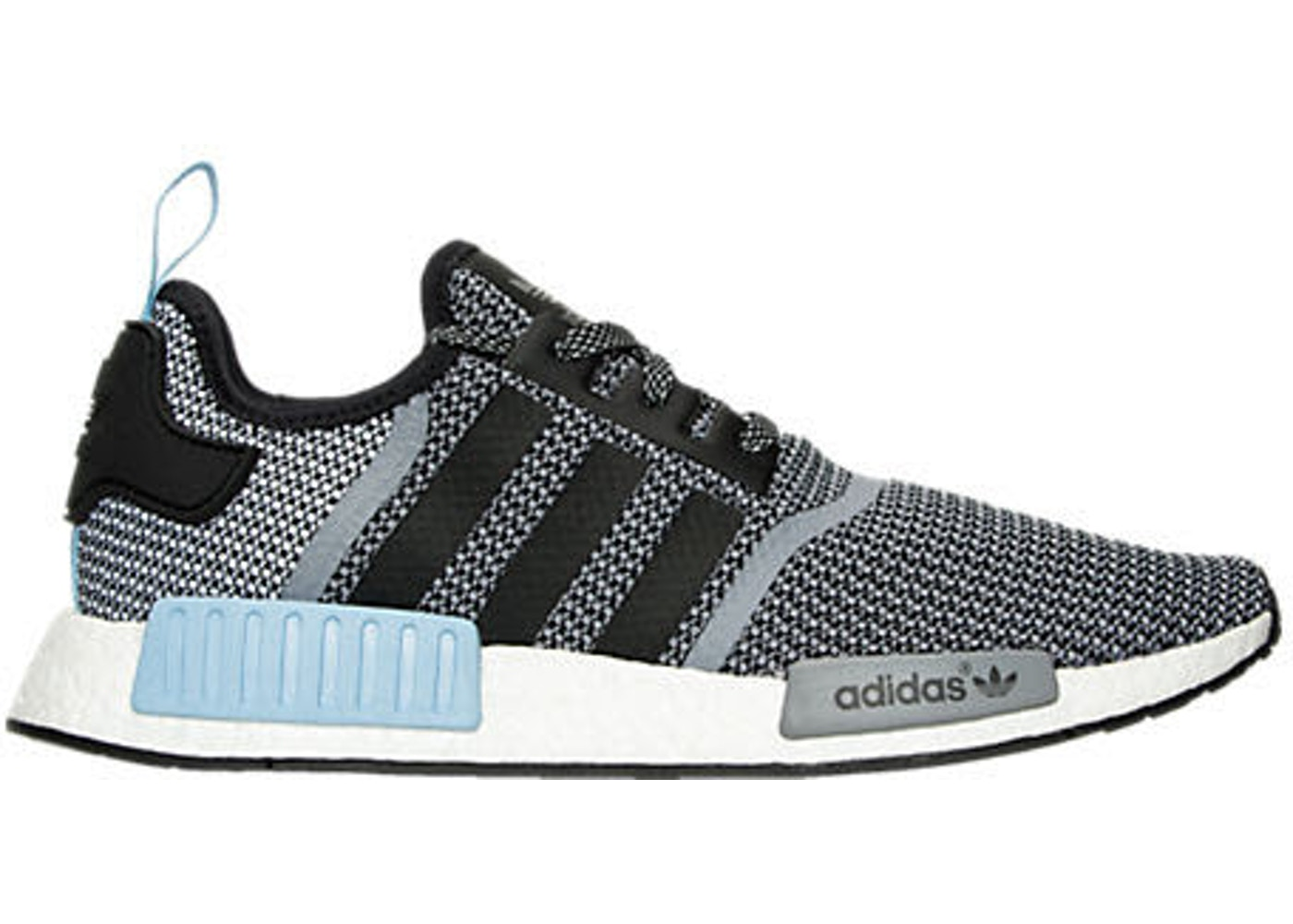 detailed look cad12 15630 adidas NMD R1 Clear Blue