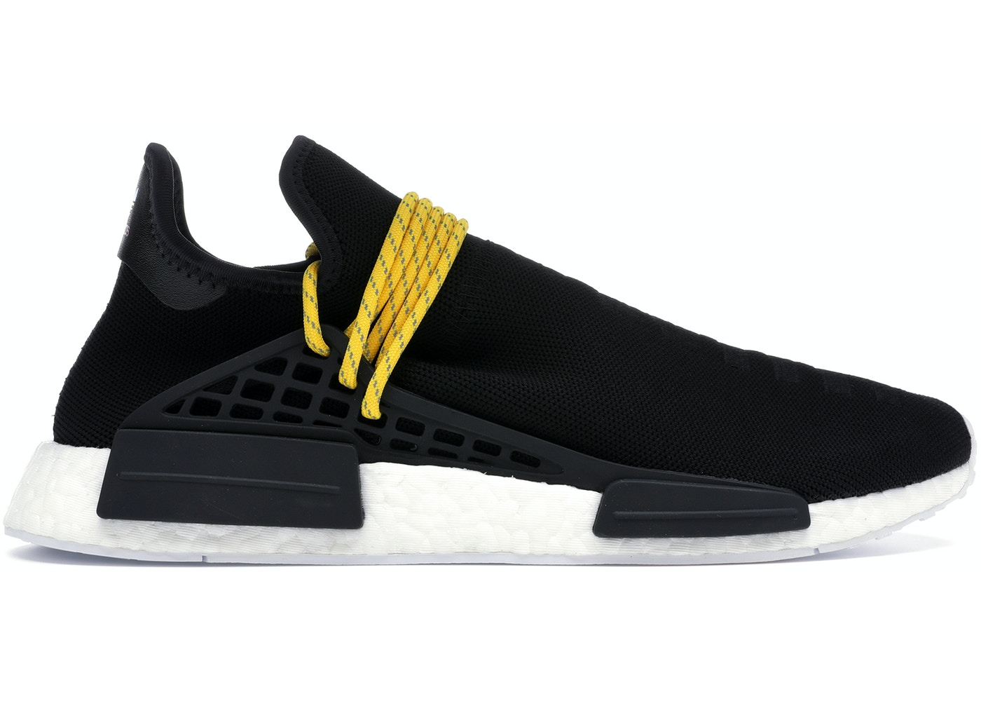 0eed5cf14610 adidas NMD HU Pharrell Human Species Black - BB3068