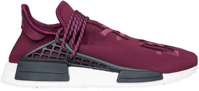 adidas NMD Pharrell HU Friends and Family Burgundy
