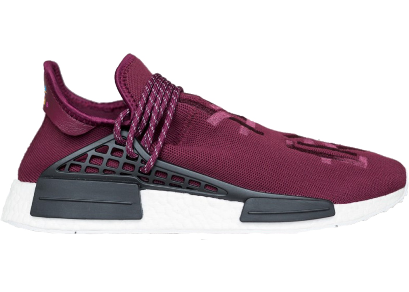 fe35fcdfa adidas NMD R1 Pharrell HU Friends and Family Burgundy - BB0617