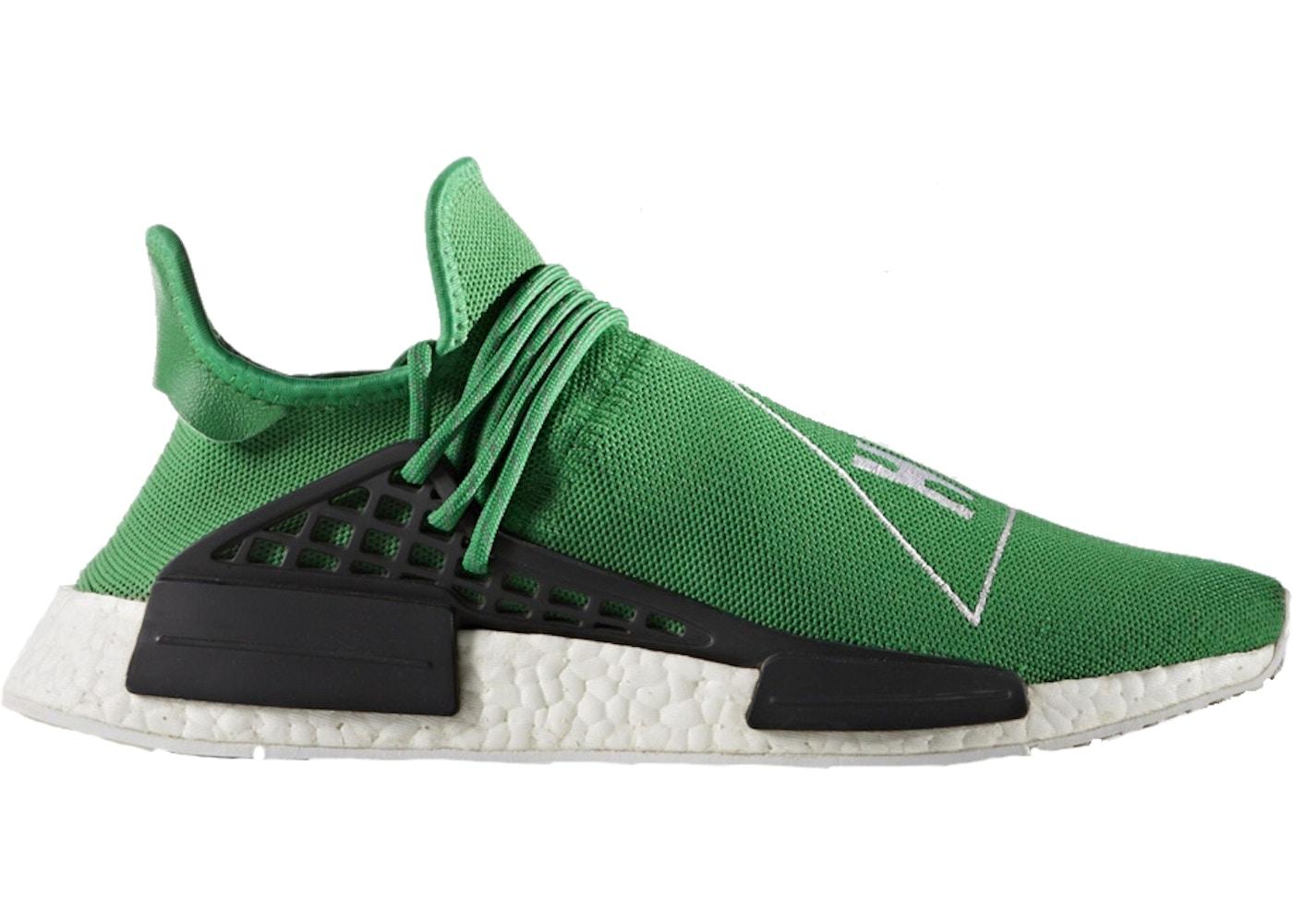 f7ec11623118 adidas NMD R1 Pharrell HU Green - BB0620