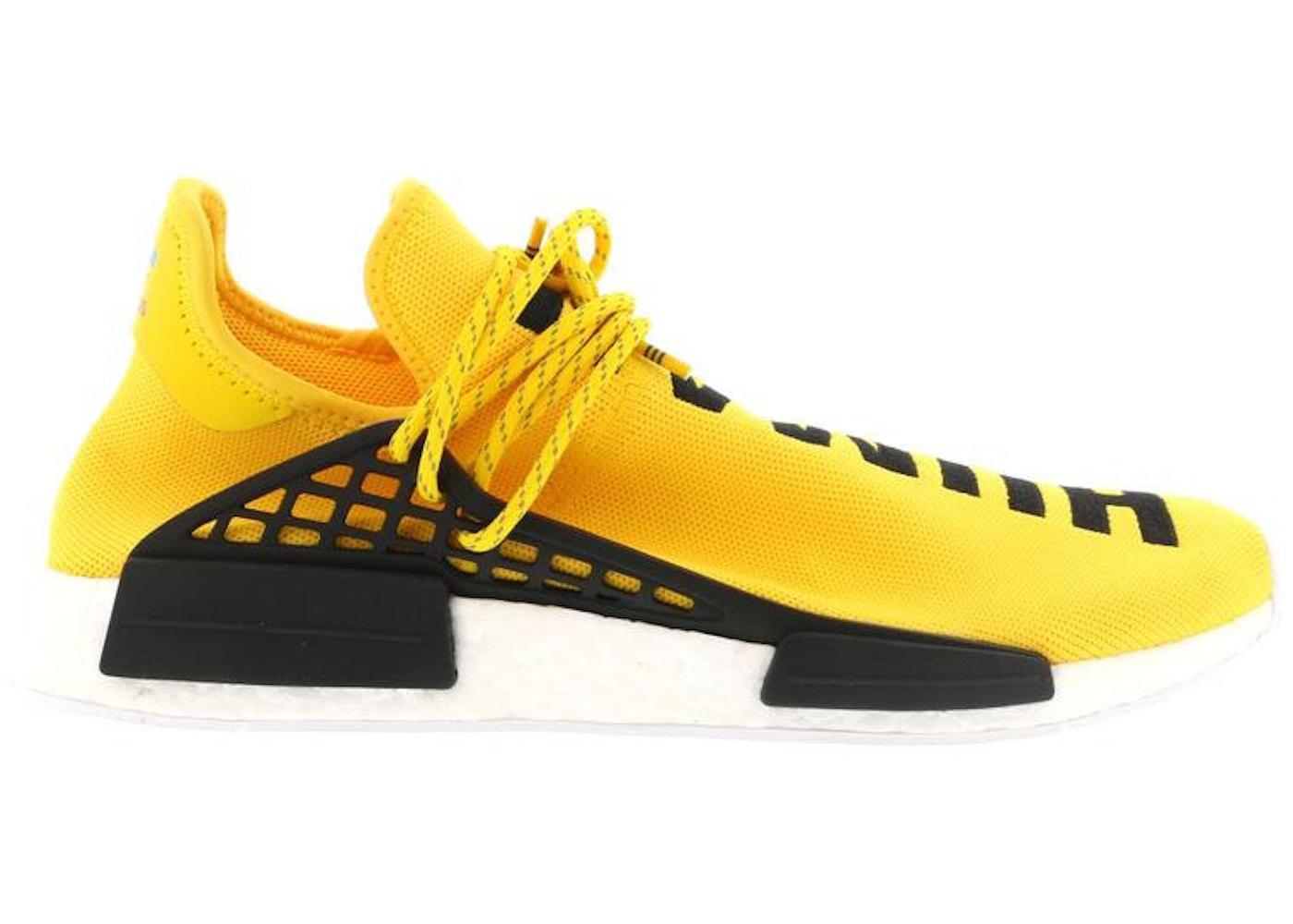 Página web oficial realmente cómodo San Francisco adidas NMD HU Pharrell Human Race Yellow - BB0619
