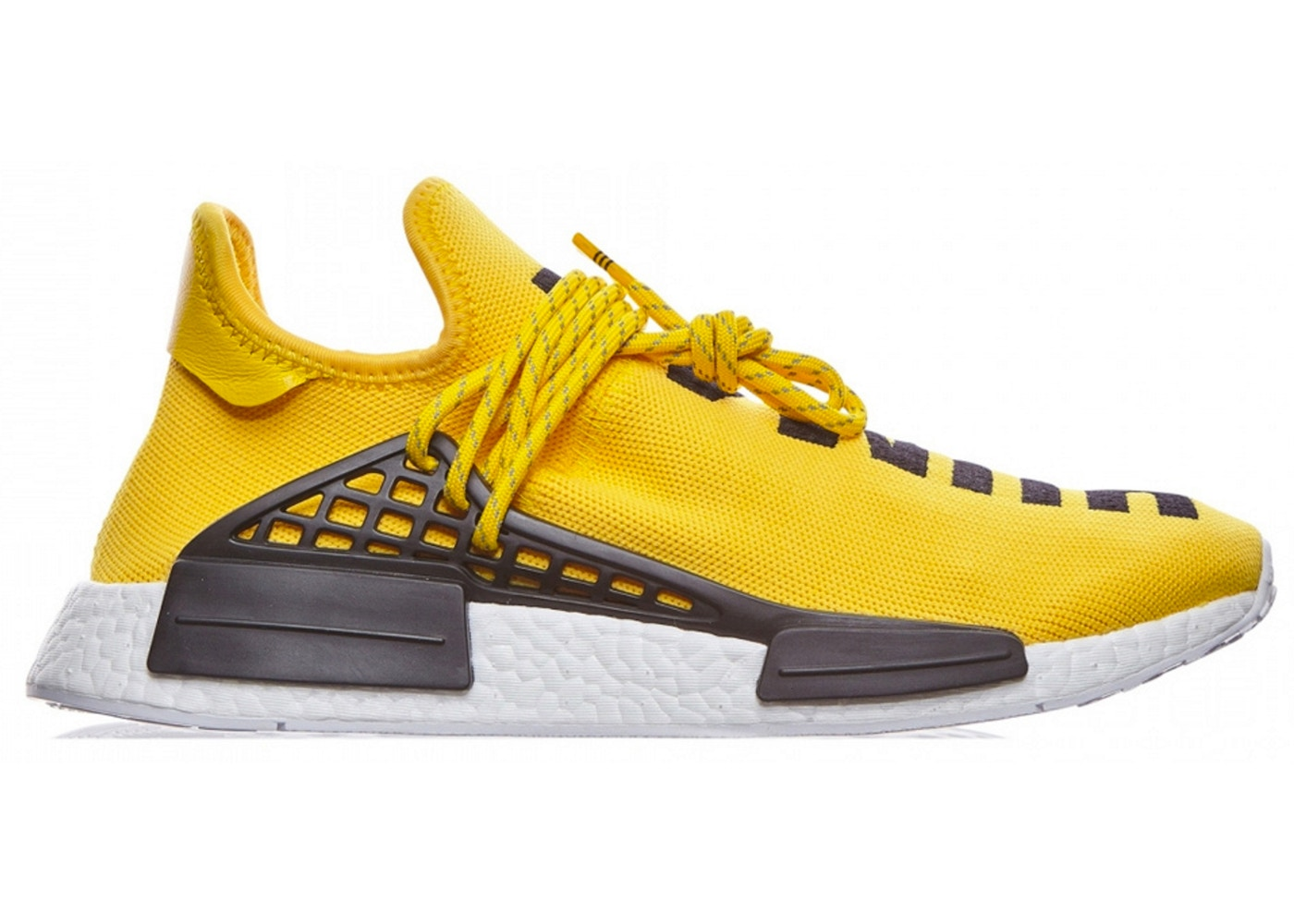 87f082814 adidas NMD HU Pharrell Human Race Yellow - BB0619