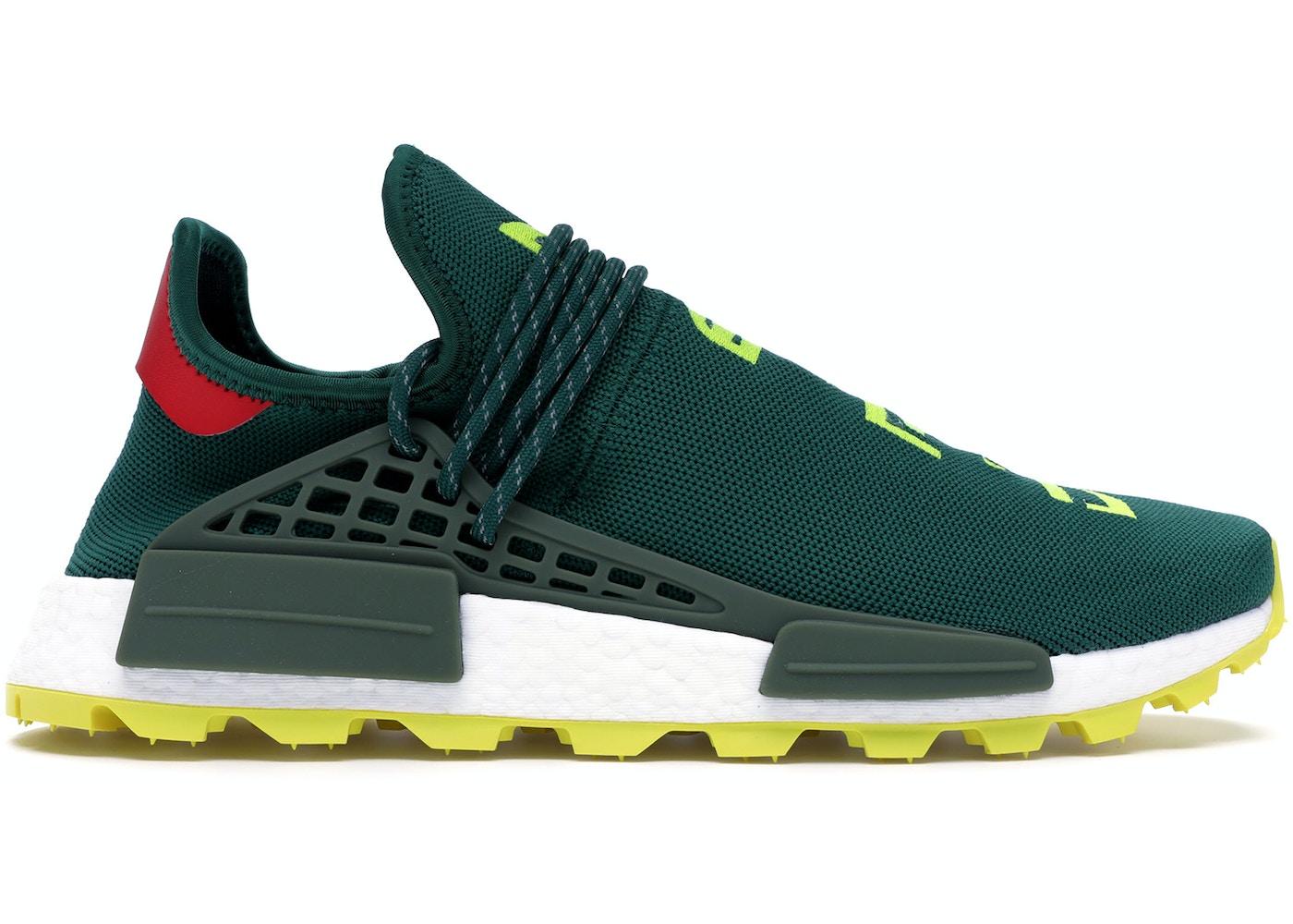 new style 3d12f 9d9ea adidas NMD Hu Pharrell NERD Green Yellow
