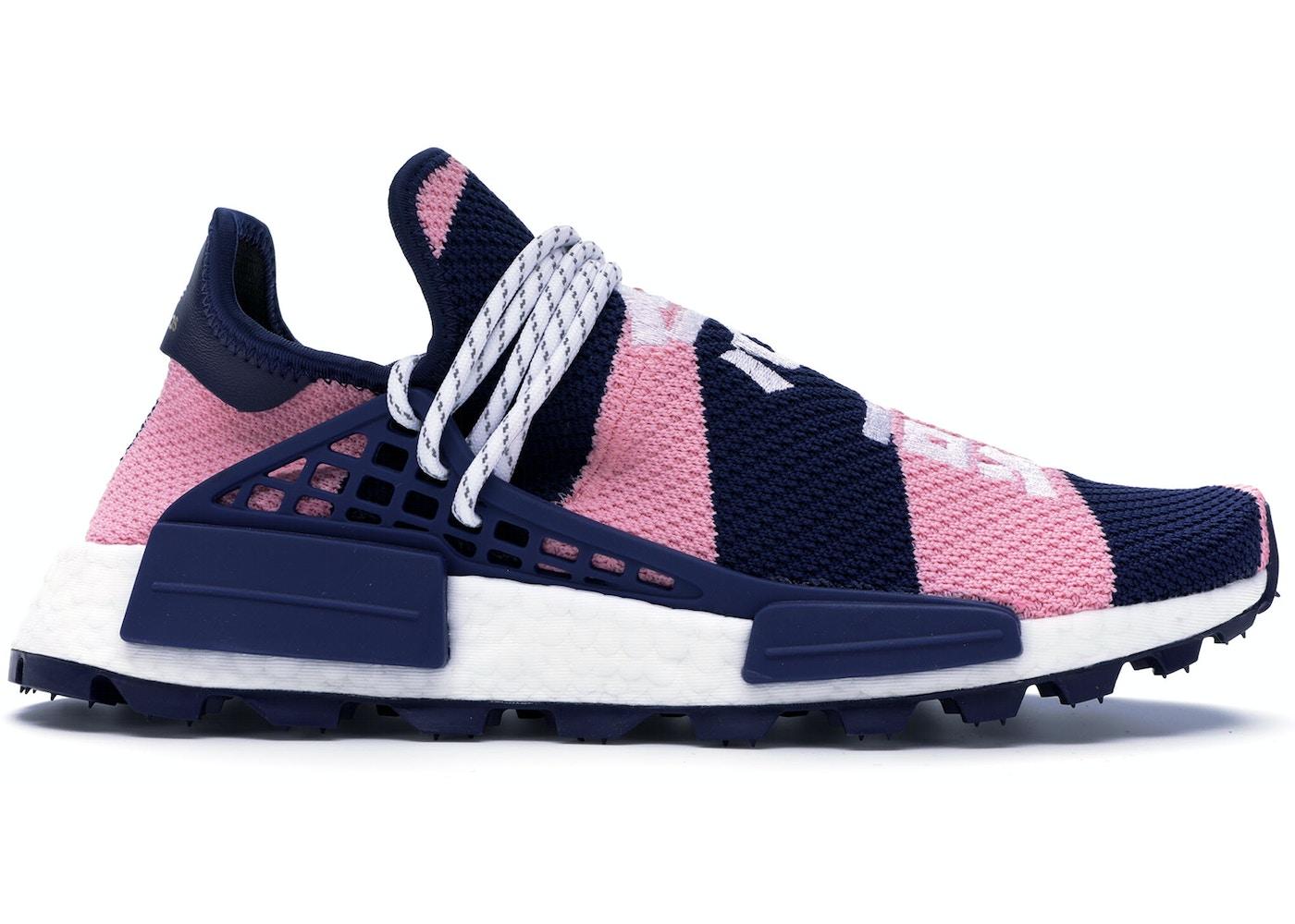 25144a9567231a adidas NMD Hu Pharrell x Billionaire Boys Club Navy Pink - G26277