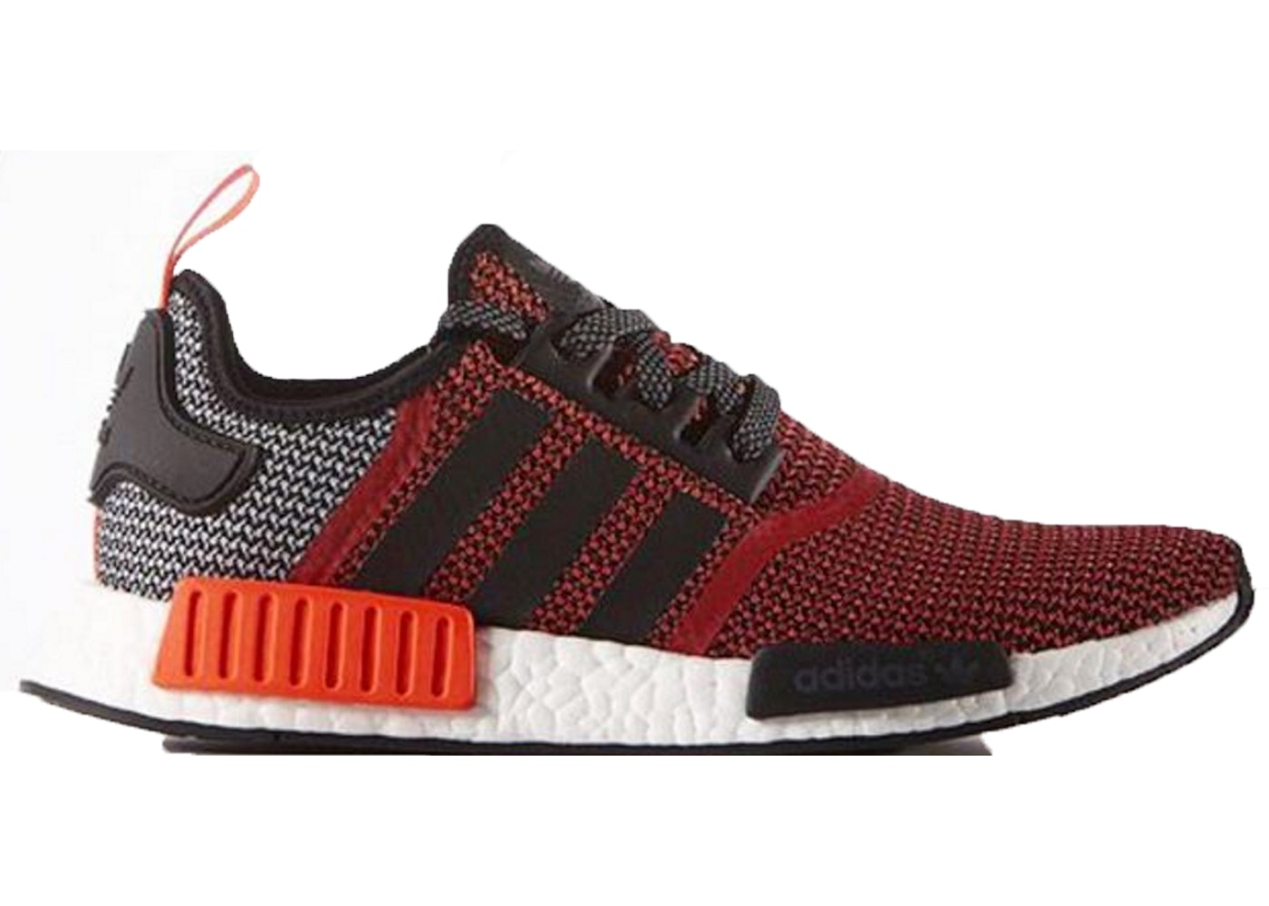 new product 08eae 4aaf4 adidas NMD R1 Lush Red
